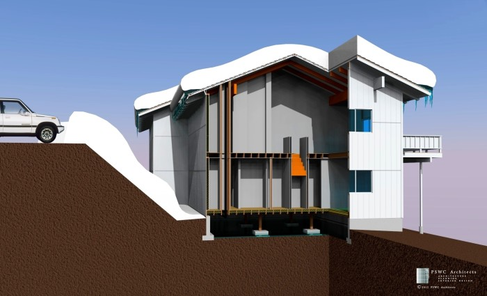 01-Render Building Section